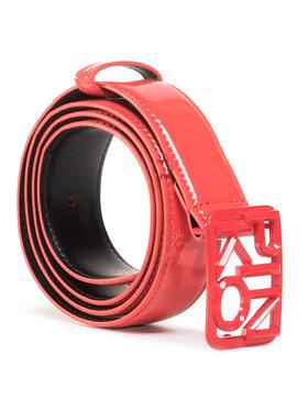 Pinko Pinko Damengürtel Fischio Small 1 Belt Al 20-21 PLT01 1H20S2 Y6ER Rot