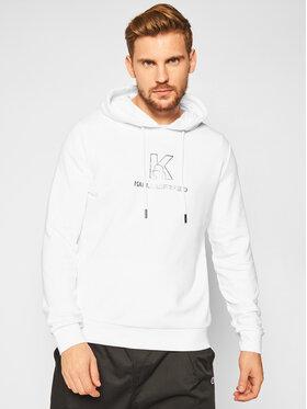 KARL LAGERFELD KARL LAGERFELD Sweatshirt 705012 502910 Blanc Regular Fit