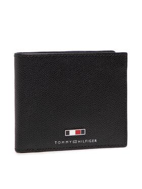 Tommy Hilfiger Tommy Hilfiger Голям мъжки портфейл Business Cc And Coin AM0AM07804 Черен