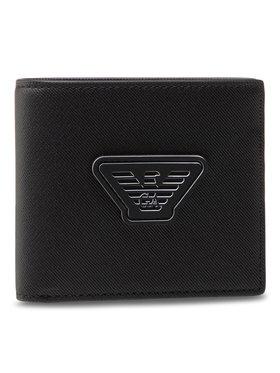 Emporio Armani Emporio Armani Veľká pánska peňaženka Y4R168 Y019V 81072 Čierna