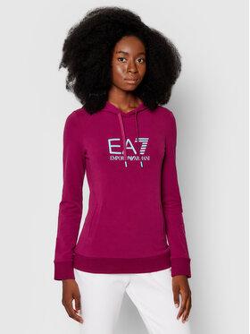 EA7 Emporio Armani EA7 Emporio Armani Sweatshirt 8NTM36 TJCQZ 1318 Violet Regular Fit