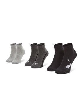 Puma Puma Σετ κοντές κάλτσες παιδικές 3 τεμαχίων 907961 01 Μαύρο
