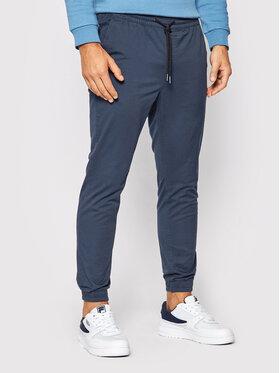 Jack&Jones Jack&Jones Kalhoty z materiálu Gordon 12183482 Tmavomodrá Regular Fit