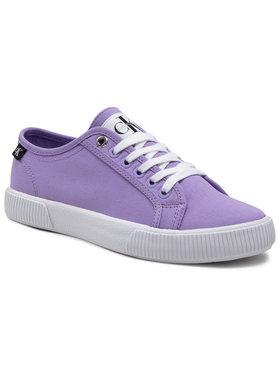 Calvin Klein Jeans Calvin Klein Jeans Tenisky Vulcanized Sneaker YW0YW00123 Fialová
