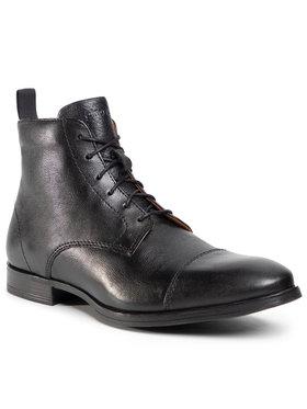 Gino Rossi Gino Rossi Kotníková obuv MB-JEREMY-32 Černá