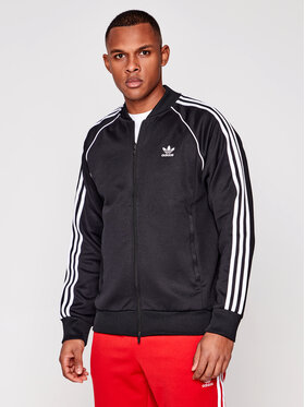 adidas adidas Bluză Sst TT P GF0198 Negru Standard Fit