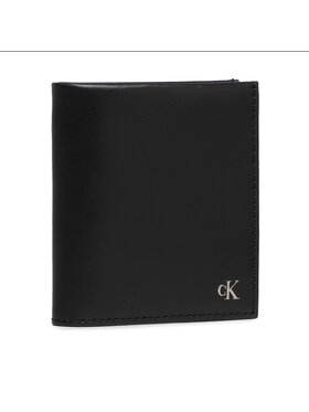 Calvin Klein Jeans Calvin Klein Jeans Malá pánska peňaženka Mono Hardware Small N/S Trifold K50K507222 Čierna