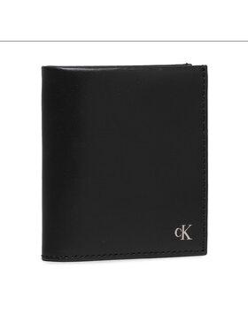 Calvin Klein Jeans Calvin Klein Jeans Maža Vyriška Piniginė Mono Hardware Small N/S Trifold K50K507222 Juoda