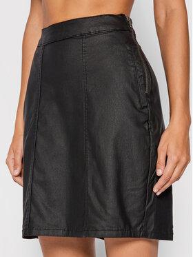 Noisy May Noisy May Džínsová sukňa NMPERI 27017861 Čierna Regular Fit