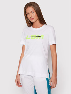 LaBellaMafia LaBellaMafia Marškinėliai 21894 Balta Regular Fit