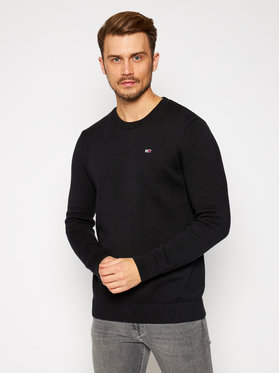 Tommy Jeans Tommy Jeans Sweater Essential DM0DM08801 Fekete Regular Fit