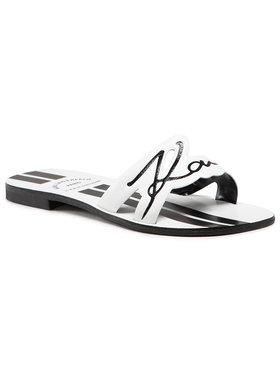 KARL LAGERFELD KARL LAGERFELD Mules / sandales de bain KL80480 Blanc