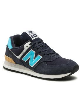 New Balance New Balance Sneakersy ML574MS2 Tmavomodrá