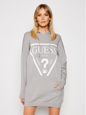 Guess Guess Strickkleid O1GA32 KAMN2 Grau Relaxed Fit
