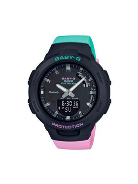 Baby-G Baby-G Часовник BSA-B100MT-1AER Черен