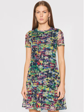 Desigual Desigual Sukienka codzienna Ann 21WWVK27 Kolorowy Regular Fit