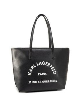 KARL LAGERFELD KARL LAGERFELD Дамска чанта 205W3084 Черен