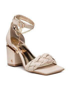 Carinii Carinii Sandále B7081 Zlatá
