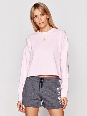 adidas adidas Bluza U4U Aeroready GN4981 Różowy Loose fit