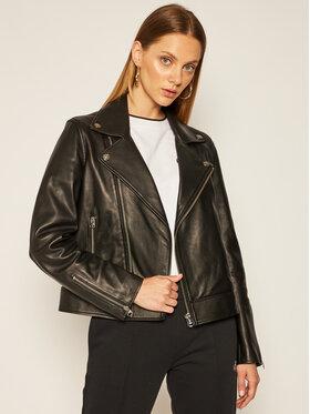 Calvin Klein Calvin Klein Geacă de piele Essential K20K202057 Negru Regular Fit