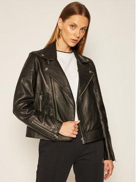 Calvin Klein Calvin Klein Μπουφάν δερμάτινο Essential K20K202057 Μαύρο Regular Fit