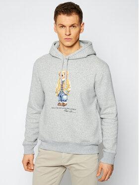 Polo Ralph Lauren Polo Ralph Lauren Bluza Magic Fleece 710829166002 Szary Regular Fit