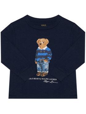 Polo Ralph Lauren Polo Ralph Lauren Bluză Ls Cn 321805681002 Bleumarin Regular Fit