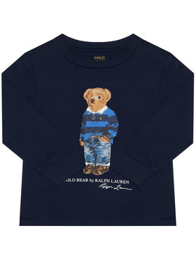 Polo Ralph Lauren Polo Ralph Lauren Μπλουζάκι Ls Cn 321805681002 Σκούρο μπλε Regular Fit