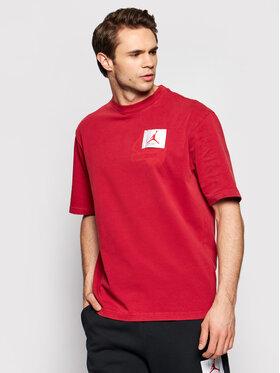 Nike Nike T-Shirt Jordan Flight CV3357 Czerwony Standard Fit