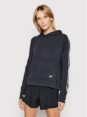Under Armour Under Armour Pulóver Ua Rival Terry 1360904 Fekete Loose Fit