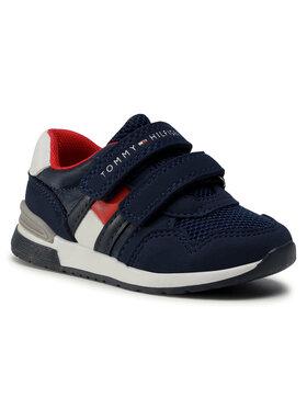 Tommy Hilfiger Tommy Hilfiger Sneakersy Low Cut Velcro Sneaker T1B4-30481-0732 M Granatowy