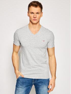 Guess Guess T-Shirt M1RI32 J1311 Szary Super Slim Fit