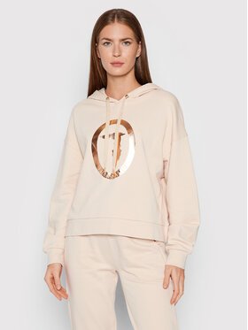 Trussardi Trussardi Sweatshirt 56F00168 Beige Relaxed Fit