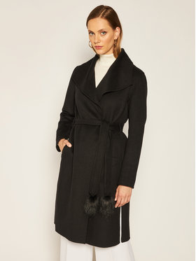 Liu Jo Liu Jo Átmeneti kabát WF0249 T4627 Fekete Regular Fit