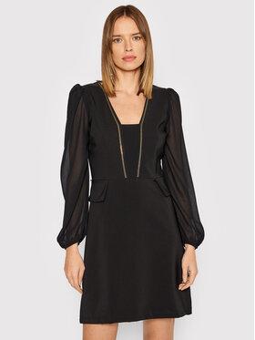 Rinascimento Rinascimento Коктейльна сукня CFC0104473003 Чорний Regular Fit