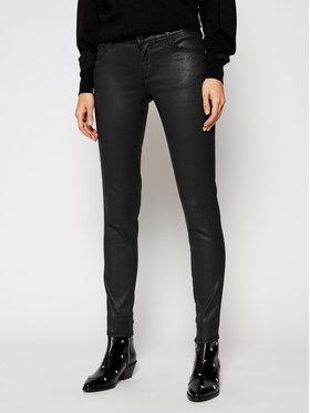 Guess Guess Παντελόνι δερμάτινο Ultra Curve W1RA37 D3OZ1 Μαύρο Skinny Fit