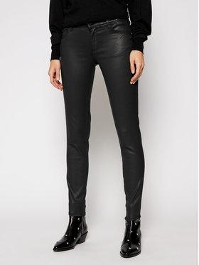 Guess Guess Spodnie z imitacji skóry Ultra Curve W1RA37 D3OZ1 Czarny Skinny Fit