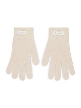 Calvin Klein Calvin Klein Γάντια Γυναικεία Organic Ribs Gloves K60K608508 Μπεζ