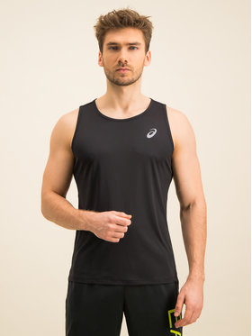Asics Asics Tank top Silver Singlet 2011A011 Regular Fit