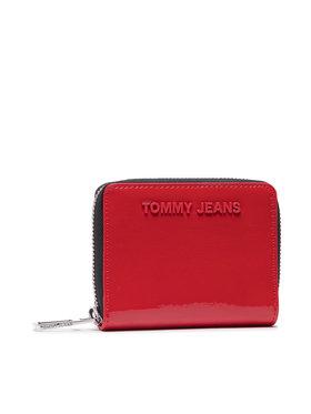 Tommy Jeans Tommy Jeans Malá dámská peněženka Twj Ess Small Za Crinkle AW0AW10206 Červená