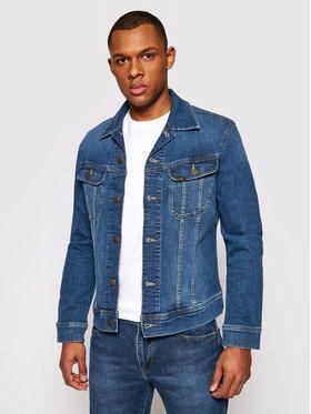 Lee Lee Kurtka jeansowa Rider L89RNLQN Granatowy Slim Fit