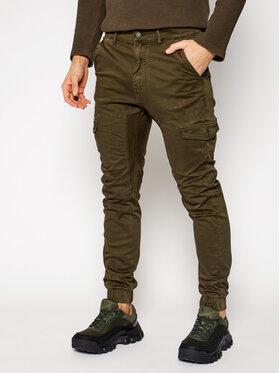 Guess Guess Джогъри New Kombat M0BB17 WDCY1 Зелен Slim Fit