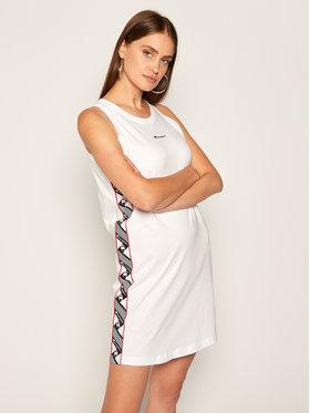 Champion Champion Každodenní šaty Jacquard 112769 Bílá Regular Fit