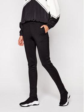 TwinSet TwinSet Spodnie dresowe 202TT2T65 Czarny Regular Fit