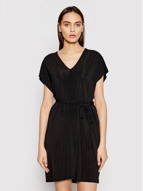 Max Mara Max Mara Лятна рокля Pavento 36210518 Черен Regular Fit