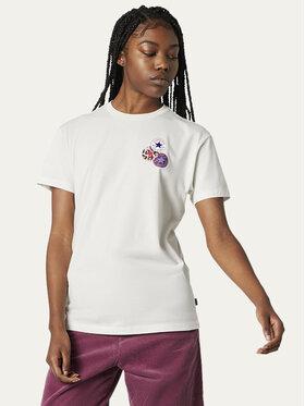 Converse Converse T-shirt Logo Distort Tee 10019115-A01 Bianco Regular Fit