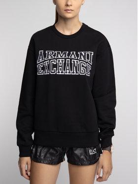 Armani Exchange Armani Exchange Bluza 6GYM81 YJ69Z 1200 Czarny Regular Fit