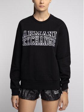 Armani Exchange Armani Exchange Džemperis 6GYM81 YJ69Z 1200 Juoda Regular Fit
