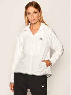 NIKE NIKE Giacca di transizione Sportswear BV3939 Bianco Loose Fit