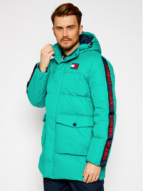 Tommy Jeans Tommy Jeans Geacă din puf Tjm Statement DM0DM08748 Verde Regular Fit